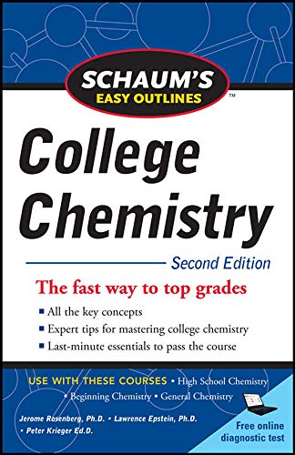 Schaum s Easy Outlines of College Chemistry,: Jerome L. Rosenberg,