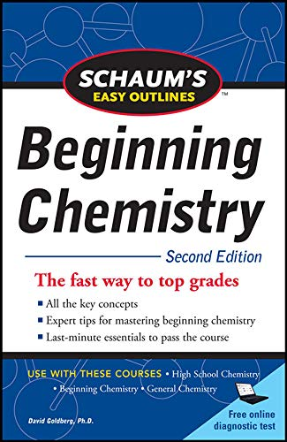 9780071745888: Schaum's Easy Outline of Beginning Chemistry, Second Edition (Schaum's Outline Series)