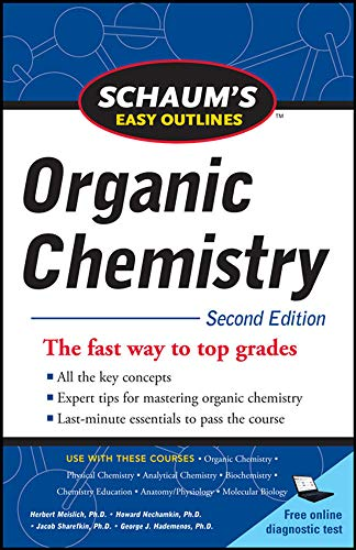 9780071745901: Schaum's Easy Outline of Organic Chemistry, Second Edition