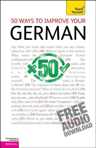 9780071746335: 50 Ways to Improve Your German (Teacher Yourself )