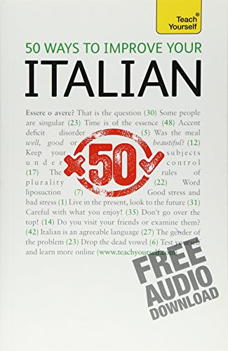 9780071746342: Teach Yourself 50 Ways to Improve Your Italian: From Beginner to Intermediate Reference, Audio Download Included