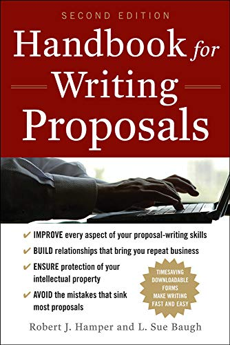 9780071746489: Handbook For Writing Proposals, Second Edition
