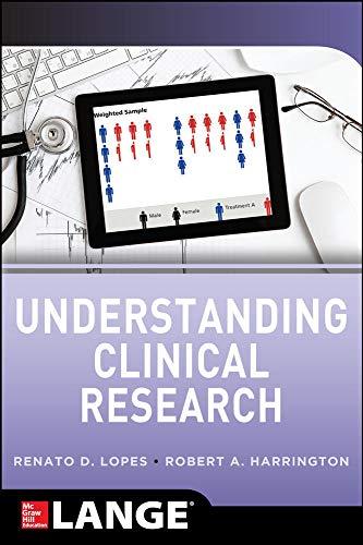 9780071746786: Understanding Clinical Research (Internal Medicine)