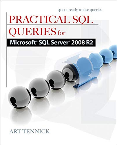 9780071746878: Practical SQL Queries for Microsoft SQL Server 2008 R2