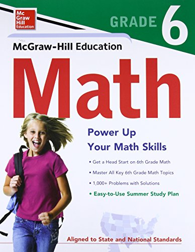 9780071747301: McGraw-Hill Education Math Grade 6 (Test Prep)