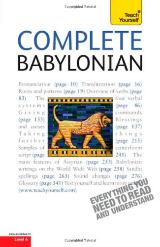 9780071747370: Complete Babylonian: A Teach Yourself Guide (Teach Yourself: Level 4 (Paperback))