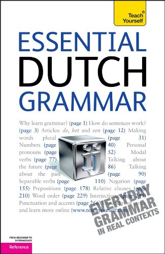 9780071747394: Essential Dutch Grammar: A Teach Yourself Guide