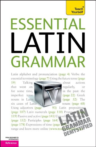 9780071747417: Essential Latin Grammar: A Teach Yourself Guide