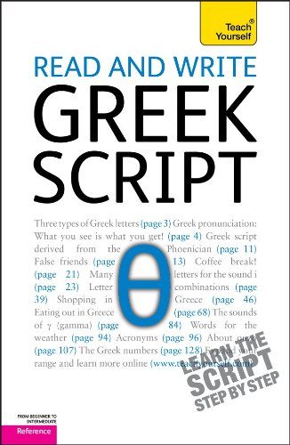 9780071747448: Read and Write Greek Script: A Teach Yourself Guide (Teach Yourself (McGraw-Hill))