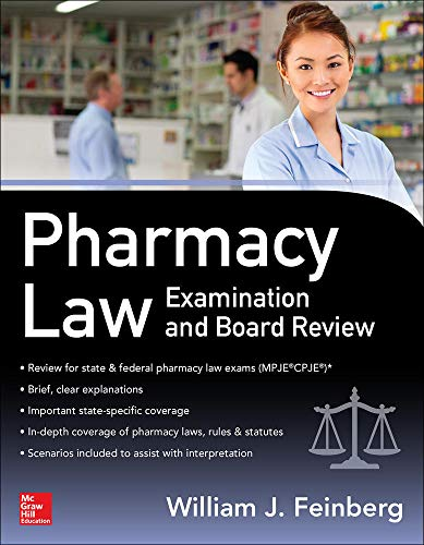 9780071747516: Pharmacy Law Examination and Board Review