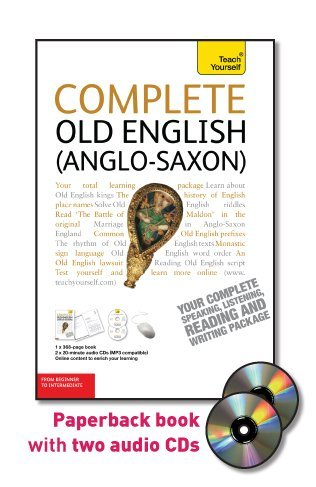 9780071747738: Complete Old English (Anglo-Saxon): From Beginner to Intermediate [With Paperback Book] (Teach Yourself: Language)