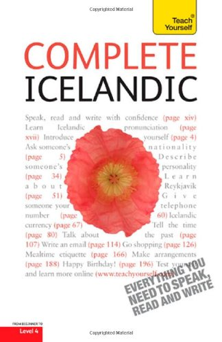 Complete Icelandic: A Teach Yourself Guide (Teach Yourself Language): Jonsdottir, Hildur