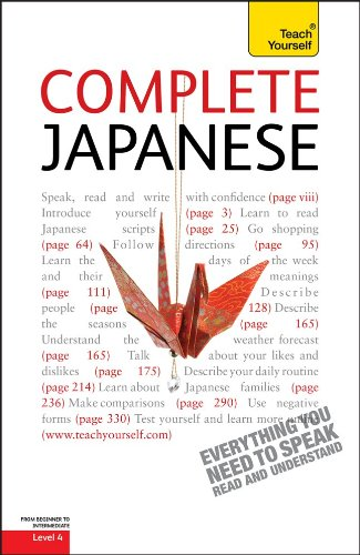9780071747868: Complete Japanese: A Teach Yourself Guide (Teach Yourself Language)
