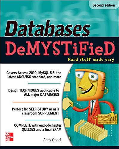 9780071747998: Databases DeMYSTiFieD, 2nd Edition