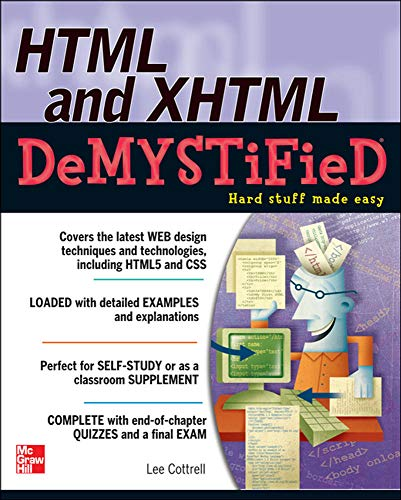 9780071748049: HTML & XHTML DeMYSTiFieD (Consumer Application & Hardware - OMG)