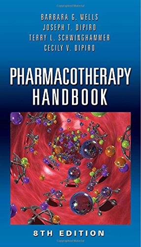 9780071748346: Pharmacotherapy Handbook, Eighth Edition