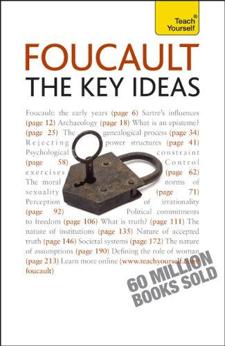 9780071748513: Foucault -- The Key Ideas: A Teach Yourself Guide (Teach Yourself: Reference)