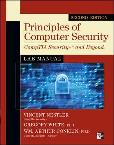9780071748568: Principles of Computer Security CompTIA Security+ and Beyond Lab Manual, Second Edition (Comptia Authorized)