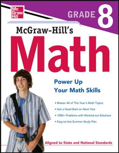 9780071748612: McGraw-Hill's Math Grade 8