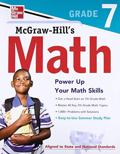 9780071748636: McGraw-Hill's Math, Grade 7 (Test Prep)