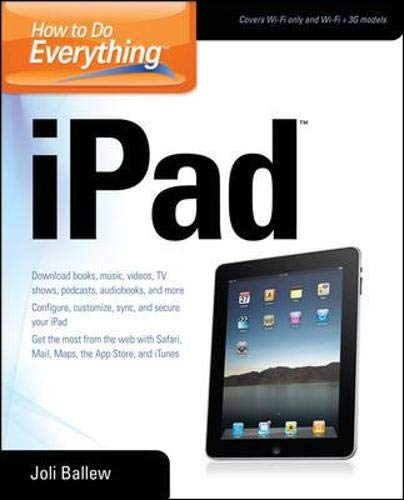 9780071748698: How to Do Everything iPad