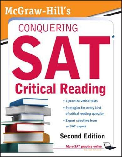 9780071748780: McGraw-Hill's Conquering SAT Critical Reading (5 Steps to a 5 on the Advanced Placement Examinations)