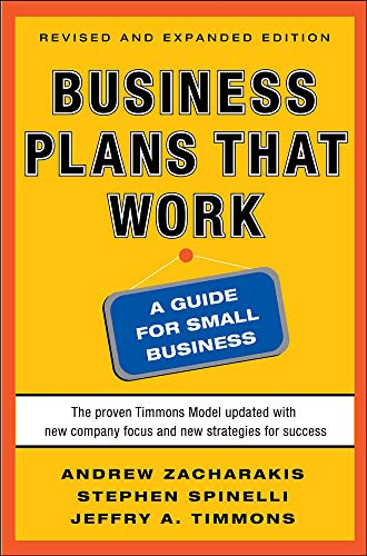 9780071748834: Business plans that work. A guide for small business
