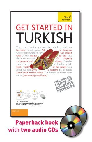 9780071749015: Get Started in Turkish with Two Audio CDs: A Teach Yourself Guide (TY: Language Guides)