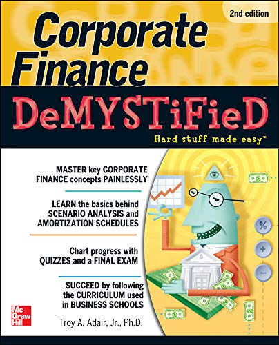 9780071749077: Corporate Finance Demystified 2/E