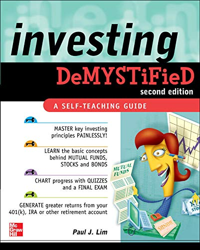 9780071749121: Investing DeMYSTiFieD, Second Edition