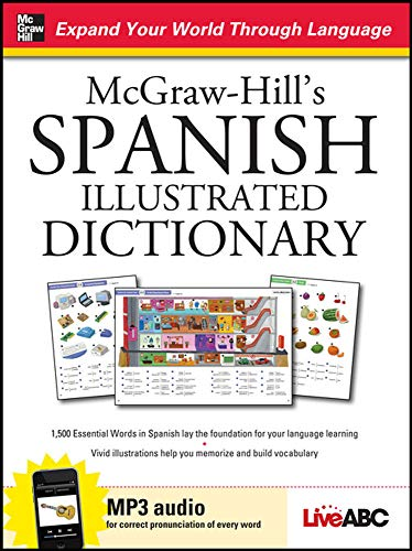 9780071749176: McGraw-Hill's Spanish Illustrated Dictionary (McGraw-Hill Dictionary Series)