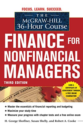 9780071749558: The McGraw-Hill 36-Hour Course: Finance for Non-Financial Managers 3/E