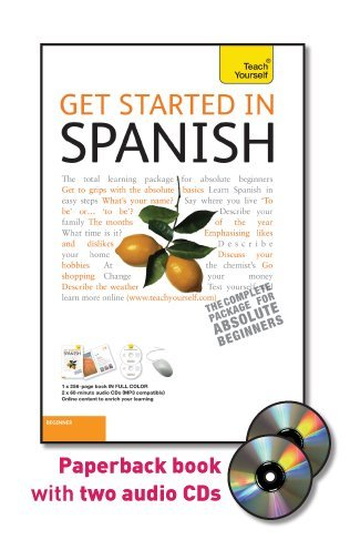 9780071749732: Get Started in Spanish with Two Audio CDs: A Teach Yourself Guide