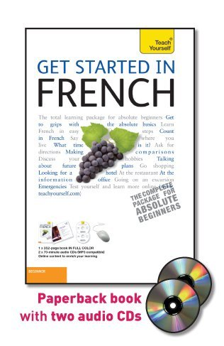 9780071749831: Get Started in French with Two Audio CDs: A Teach Yourself Guide (Ty: Language Guides Ty: Language Guides)