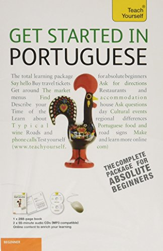 9780071749886: Get Started in Portuguese with Two Audio CDs: A Teach Yourself Guide (TY: Language Guides)