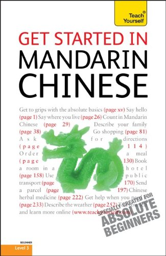 9780071749947: Get Started in Mandarin Chinese (Teach Yourself: Level 3)