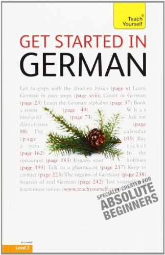 9780071749992: Get Started in German: A Teach Yourself Guide (TY: Language Guides)