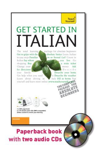 9780071750066: Get Started in Italian with Two Audio CDs: A Teach Yourself Guide (TY: Language Guides)