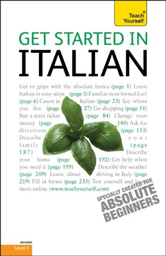 9780071750073: Get Started in Italian: A Teach Yourself Guide (TY: Language Guides)