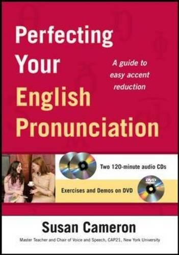 9780071750172: Perfecting Your English Pronunciation with DVD