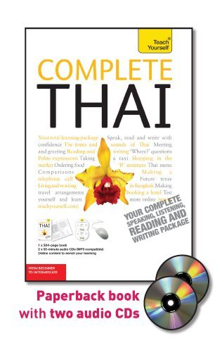 9780071750493: Teach Yourself Complete Thai: From Beginner to Intermediate [With Paperback Book] (Teach Yourself Language Complete Courses)