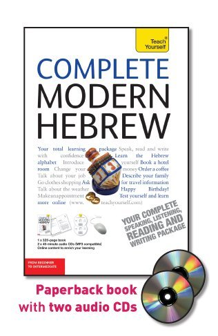 9780071750547: Complete Modern Hebrew with Two Audio CDs: A Teach Yourself Guide (Teach Yourself Language)