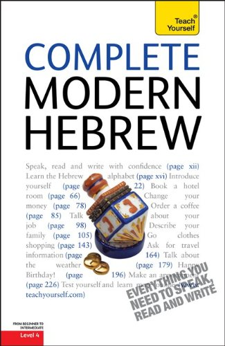 9780071750554: Complete Modern Hebrew, Level 4 (Teach Yourself (McGraw-Hill))