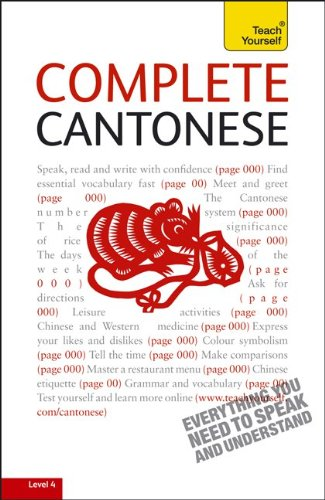 9780071750608: Complete Cantonese: A Teach Yourself Guide (Teach Yourself Language)