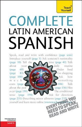 9780071750653: Complete Latin American Spanish, Level 4 (Teach Yourself (McGraw-Hill))