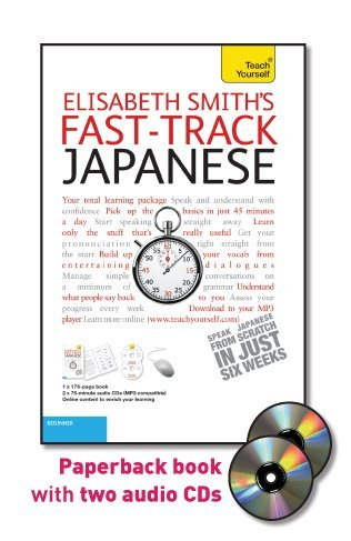 9780071750691: Fast-Track Japanese with Two Audio CDs: A Teach Yourself Guide