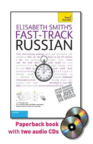 9780071750745: Fast-Track Russian with Two Audio CDs: A Teach Yourself Guide (TY: Language Guides)