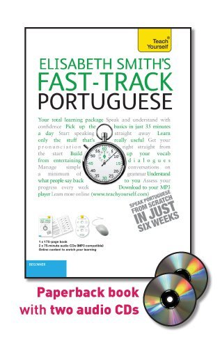 9780071750790: Fast-Track Portuguese with Two Audio CDs: A Teach Yourself Guide