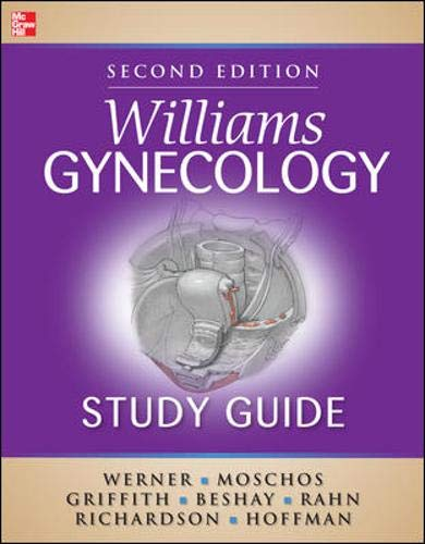 9780071750912: Williams Gynecology Study Guide, Second Edition