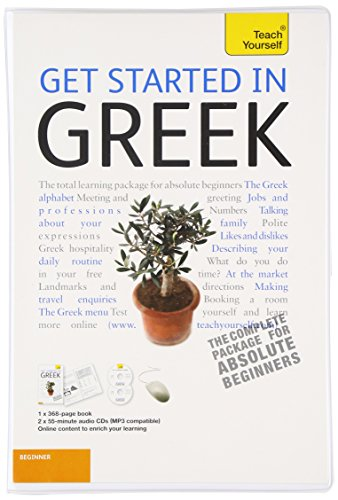 9780071751063: Get Started in Greek with Two Audio CDs: A Teach Yourself Guide (TY: Language Guides)